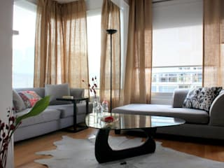 Living room by Trua arqruitectura, Modern