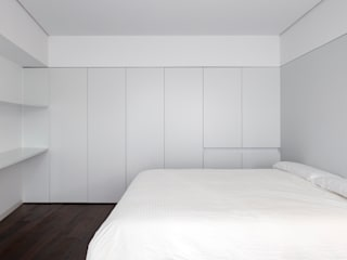 Dormitorio 2: Dormitorios de estilo  de Balzar Arquitectos