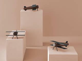 Motormood Collection Borja Garcia Studio HogarAccesorios y decoración Metal Acabado en madera