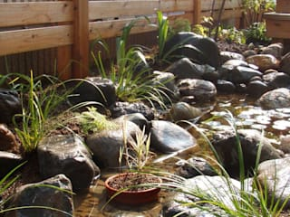 小さな池のある庭 | Kamakura: jardinier Kirikuiが手掛けた庭です。