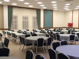 ADE - Ali Salkım Mimarlık – Körfez Belediyesi N.Erbakan Düğün Salonu: modern tarz , Modern