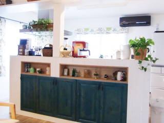 キッチンその1 カントリーデザインの キッチン の 株式会社TERRAデザイン カントリー 木 木目調
