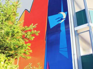 de Wandgestaltung Graffiti Airbrush von Appolloart Minimalista