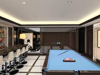 Kerim Çarmıklı İç Mimarlık – A.U.D EVİ: modern tarz Multimedya Odası