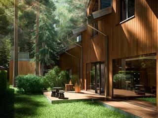 Modern Houses by Design studio of Stanislav Orekhov. ARCHITECTURE / INTERIOR DESIGN / VISUALIZATION. Modern
