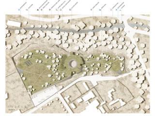 Centro Cultural em Bamiyan, Afeganistão. Concurso Internacional The Bamiyan Cultural Center Design Competition Fevereiro 2015:   por João Araújo Sousa & Joana Correia Silva Arquitectura