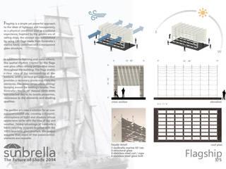 Flagship. Concurso Internacional Sunbrella Future of Shade 2014 Projecto Vencedor de uma Menção Honrosa Abril 2014 por João Araújo Sousa & Joana Correia Silva Arquitectura