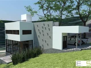 CASA PEREYRA ROMERO CUNY Casas modernas: Ideas, imágenes y decoración de Estudio5314 Moderno
