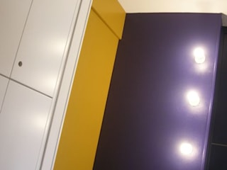 Di Origine Progettuale DOParchitetti Nowoczesny korytarz, przedpokój i schody