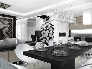 Salas de estar  por ArtCore Design , Moderno