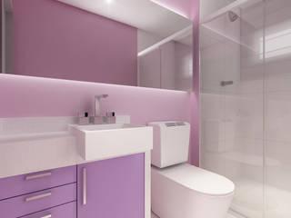 Baños de estilo  de Modulo2 Arquitetos Associados., Moderno Cuarzo