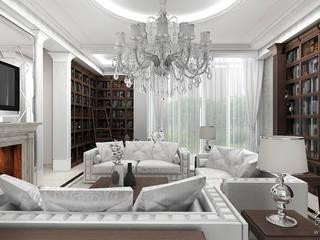 Salas de estar  por ArtCore Design , Rústico