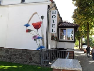 de Wandgestaltung Graffiti Airbrush von Appolloart Mediterráneo