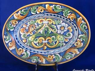 Ornamental Plates. di Ceramiche Artigianali Ripullo Classico
