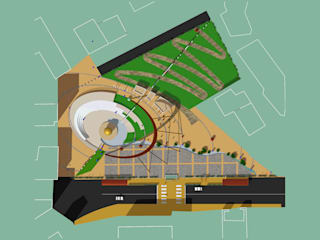 Rendering: Case in stile  di Architetto Giovanni Marra Studio di Progettazione Integrata