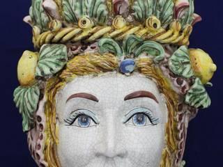 Lamp - Bedside Lamps Ceramic di Ceramiche Artigianali Ripullo Classico