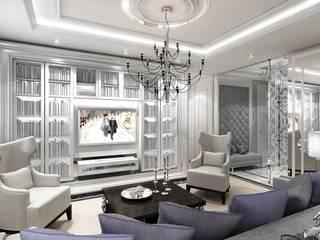 Salas de estar  por ArtCore Design , Clássico