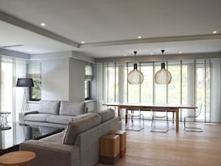 Tarabya Villa Modern Oturma Odası MONOBLOK DESIGN & INTERIORS Modern