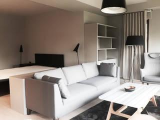 monoblok design & interiors – Tarabya Villa:  tarz Yatak Odası