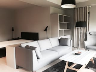 Tarabya Villa Modern Yatak Odası MONOBLOK DESIGN & INTERIORS Modern