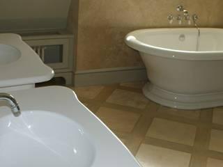 Łazienka w stylu prowansalskim Śródziemnomorska łazienka od Stone Mason I Sp. z o.o. Śródziemnomorski