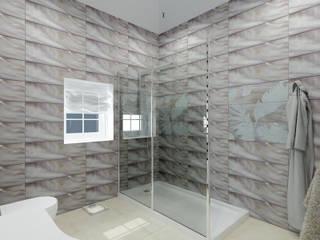 Дизайн первого этажа ИЖД Ванная в классическом стиле от Андреева Валентина Классический