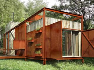 Casas estilo moderno: ideas, arquitectura e imágenes de План_Б Moderno