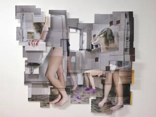 Badkamer:   door KRIS doet kunst