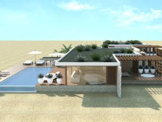 Piscinas de estilo  por Renato Teles Arquitetura
