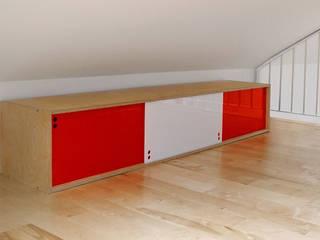 półka PLY BOARD: styl , w kategorii  zaprojektowany przez Modestwork