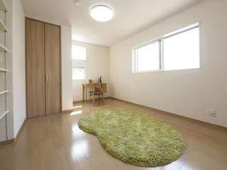 『 大きな開放があるすまい 』 北欧デザインの 子供部屋 の Live Sumai - アズ・コンストラクション - 北欧