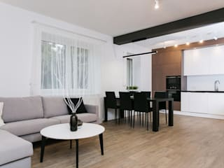 Living room by Och_Ach_Concept, Scandinavian