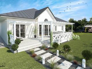 Modern style balcony, porch & terrace by D2 Studio Modern