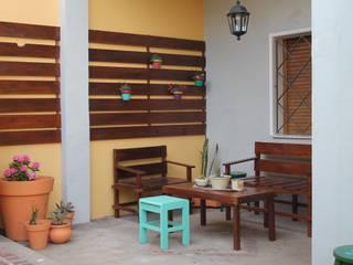 庭院 by LAS MARIAS casa & jardin
