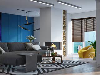 Wohnzimmer von Art-i-Chok