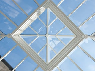 Square roof lantern :  Conservatory by Westbury Garden Rooms