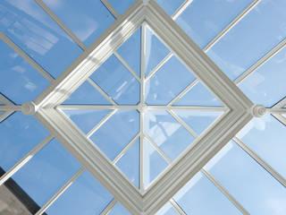 Square roof lantern Modern conservatory by Westbury Garden Rooms Modern