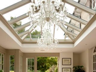 Rectangle roof lantern Modern conservatory by Westbury Garden Rooms Modern