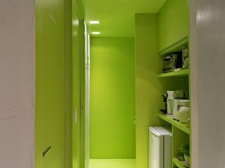 ห้องทำงาน/อ่านหนังสือ โดย BEP Arquitetos Associados, มินิมัล