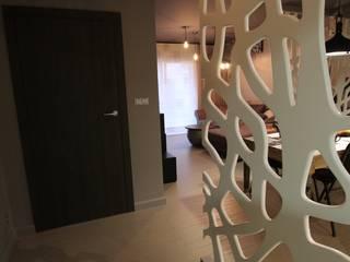 Corridor & hallway by projektowanie wnętrz, Modern