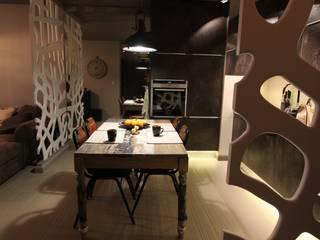 Dining room by projektowanie wnętrz, Industrial