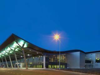 Tekeli-Sisa Mimarlık Ortaklığı – Priştina Adem Jashari Uluslararası Havalimanı:  tarz Havalimanları