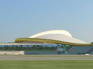 Aşkabat Uluslararası Havalimanı Asyatik Havalimanları Tekeli-Sisa Mimarlık Ortaklığı Asyatik