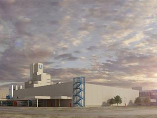 Tekeli-Sisa Mimarlık Ortaklığı – Unilever Ev ve Beşeri Temizlik Ürünleri Fabrikası:  tarz Dükkânlar