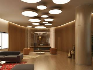 Tekeli-Sisa Mimarlık Ortaklığı – Ofis Tasarımı / Majidi Mall Süleymaniye:  tarz Ofis Alanları