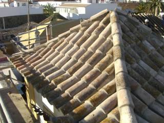 Telhado reabilitado:   por Protecna - Consultores de Engenharia