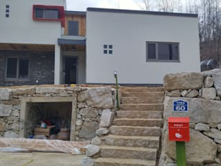 Rumah Modern Oleh 봄 하우스플랜 Modern