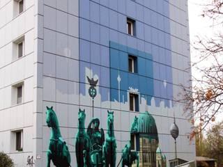 de Wandgestaltung Graffiti Airbrush von Appolloart Clásico
