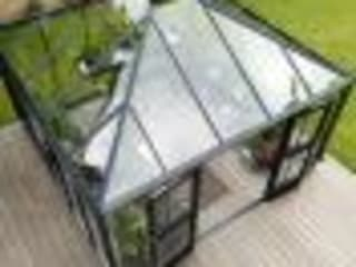 Juliana Silver Oasis 12x12 Greenhouse:  Garden by Greenhouse Stores