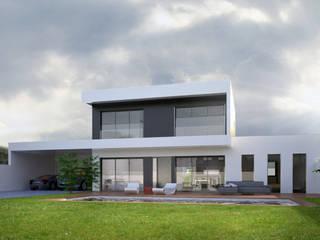 Maison contemporaine: Maisons de style  par Atelier L.A. Design